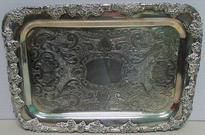 Vintage Silver Plate Grape & Vine  Small Tray – Old English Reproductions