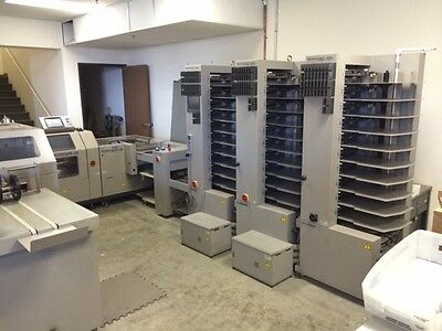 Horizon Stitchliner 5500 , 3 Tower 30 Bin Vac100 Bookletmaker , 3 Knife Trimmer