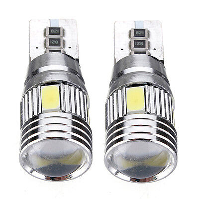 2*T10 501 194 W5W 5630 LED SMD Car HID Canbus Error Free Wedge Light Bulb Lamp
