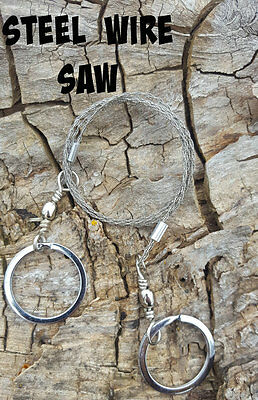 Stainless Steel Wire Survival Saw Outdoors Hiking Camping