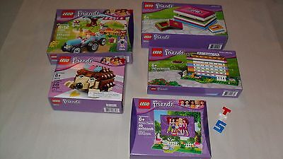 Choice LEGO New Sealed Friends Home Office Sets 40114 40171 41026 850581 853393