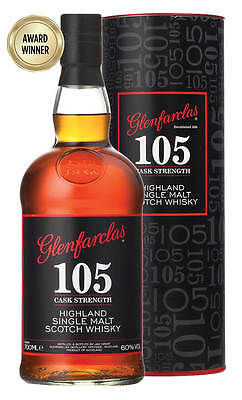 Glenfarclas 105 Cask Strength Single Malt Scotch Whisky 700ml (Boxed)