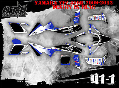 Scrub Dekor Kit Atv Yamaha Yfz 450R Ab 2009 Graphic Kit Q1 B