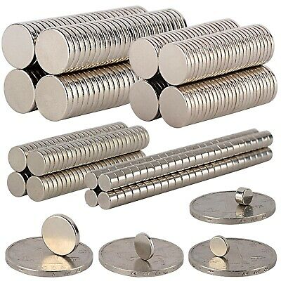 50-100Pcs Strong Round Disc 5x3mm 8x1mm 12x2mm Magnets Rare-Earth Neodymium N35