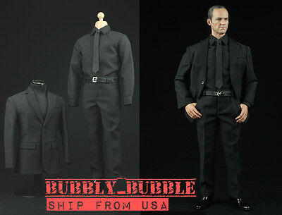 """ZY 1//6 scale Men Business Suit Clothes Set For 12/"""" Male Action Figure Doll USA"""