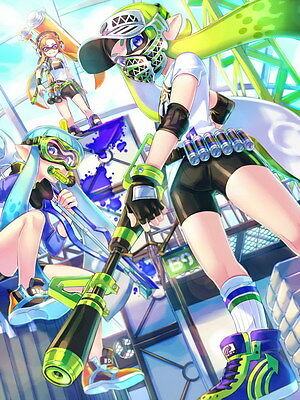 "YX02172 Splatoon - Hot Video Game 14""x18"" Poster"