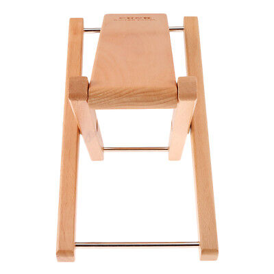 Folding Wood Foot Stool Rest for Acoustic Electric Classical Guitars