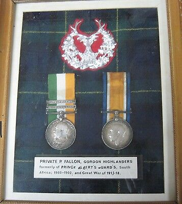 British Military Medls For Boer War And Ww1. -Named