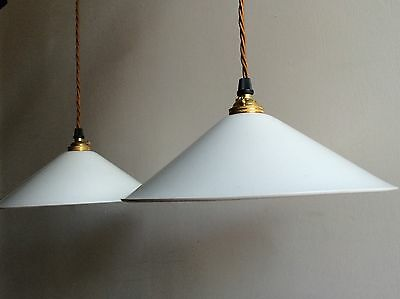 Vintage Pendant Light Reclaimed X1 Industrial Retro Kitchen New Wiring