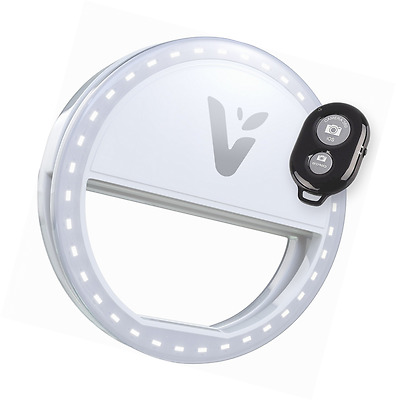 Veemoh Camera Diva Ring Light LED Selfie Cell Phone Lighting for Photography iPh