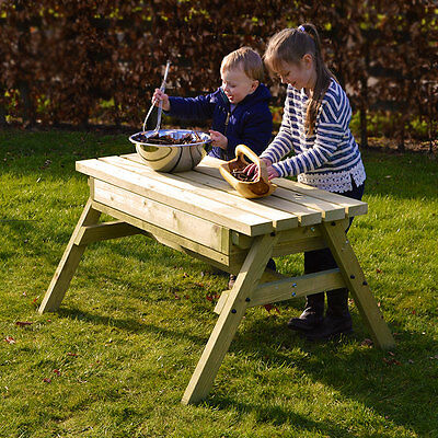 Children's Dual Purpose Sand Play Table