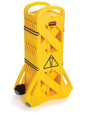 Rubbermaid Mobile Barrier System - Portable Safety Barricade