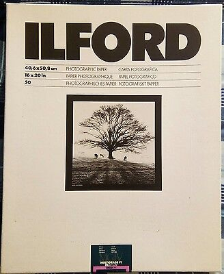 "Ilford Multigrade lV 16"" x 20"" Glossy RC Photo Paper"