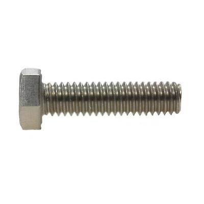 """Hex Set Screw 3/8"""" UNC Imperial Coarse Bolt BSW Stainless Steel G304"""