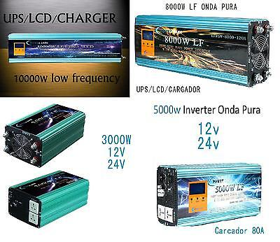 Inverter 3000W 5000W 8000W 10000W LF Of Wave Pure the Sine LCD+Charger