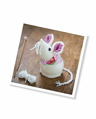 The Crafty Kit Co Mary Mouse knitting kit & pattern