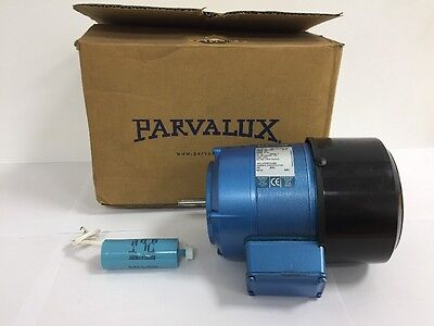 New Parvalux 100w SD13 AC Electric Motor Single Phase 220/240v 1400RPM W07567