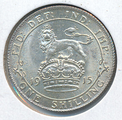 Great Britain Shilling 1915 - AU