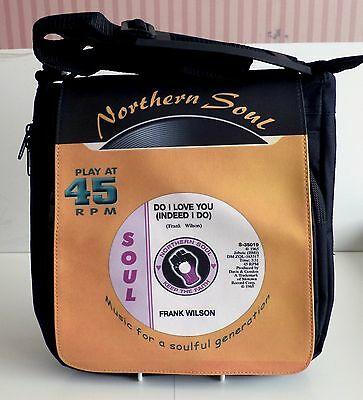 Northern Soul Bag Shoulder Bag, Do I Love You Bag, Soul Record Bag, Scooter Bag