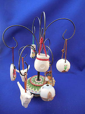 Friends Of The Feather Ornament Tree With Sw. Ornaments 14 3/4""