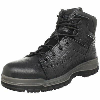Caterpillar DIMEN HI ST Mens Black STEEL TOE P90002 Leather Work Boots