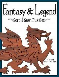 Fantasy & Legend Scroll Saw Puzzles - NEW - 9781565232563 by Peterson, Judy/ Pet