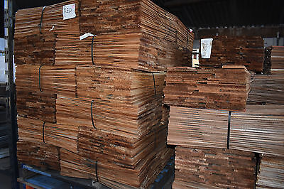 Pack Lot - Cedar Shingles - 457mm x 57mm x 5mm Red Label -$120 per bundle