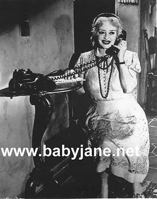 008 Bette Davis On The Telephone What Ever Happened To Baby Jane Photo