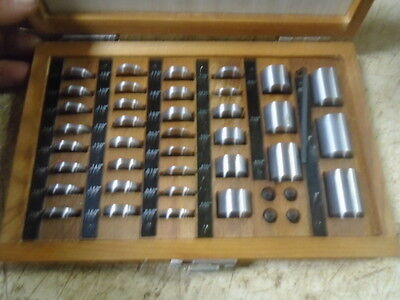 MACHINIST TOOL LATHE MILL Machinist JoBlock Gage Block Set