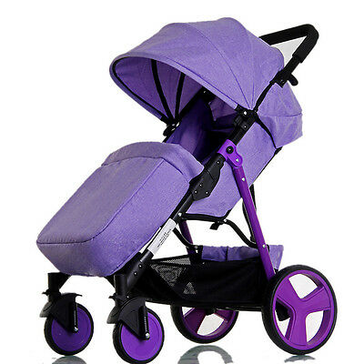 New Infant Stroller Steady Baby Toddler Pushchair Carry On Board Pram Foot Cover