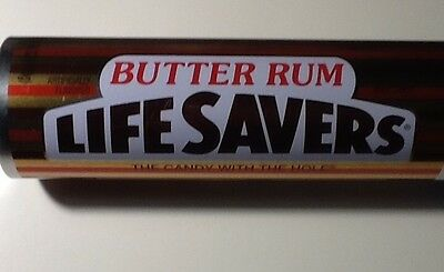 Life Savers Candy BUTTER RUM Collectible Tin LifeSavers