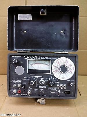 Sam I By Wavetek Signal Analysis Meter 450 MHZ Attenuator In Hard Case