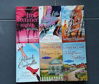LUANNE McLANE**HTF Contemporary Romances**  6 BOOKS