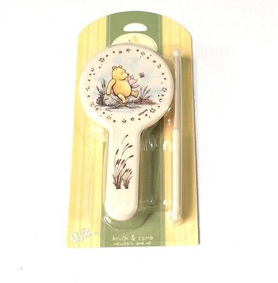 Disney Classic Winnie the Pooh Baby Brush & Comb Set (package signs of damage)
