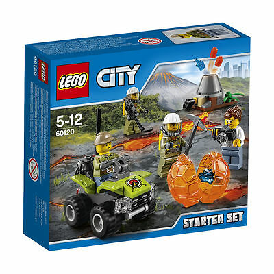 Lego City 60120 Vulkan Starter Set