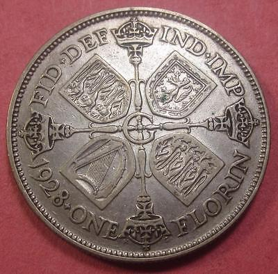 Great Britain Florin 1928 Xf    Br765