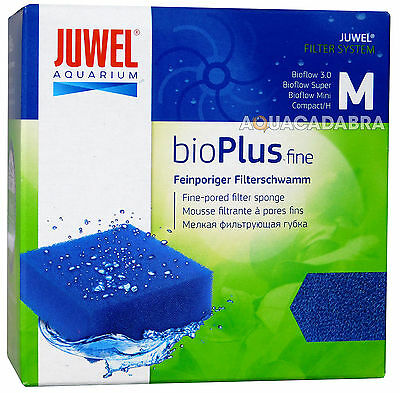Juwel Compact (M) Bio Plus Fine Sponge Filter Media Genuine Aquarium Fish Tank