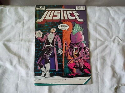 Justice vol 1 n° 22 new universe marvel comics en anglais 1988