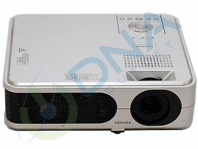Toshiba Tlp-Xd2000 Lcd Digital Projector - 3035 Lamp Hours Used - Grade A