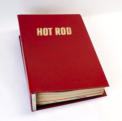 Complete 1964 Hot Rod Magazine 12 Issues in Binder Mustang/Dragster/Muscle Car