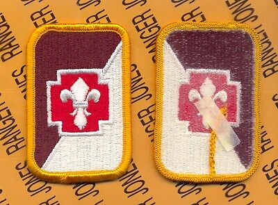 US Army 62nd Medical Brigade dress uniform patch m/e