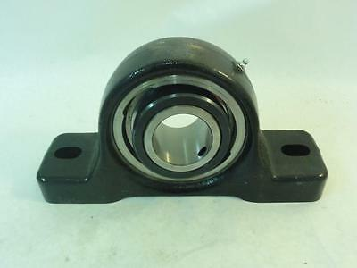 "168655 Old-Stock, Rexnord PEU339 Pillow Block Bearing, 2-Bolt, 2-7/16"" ID"