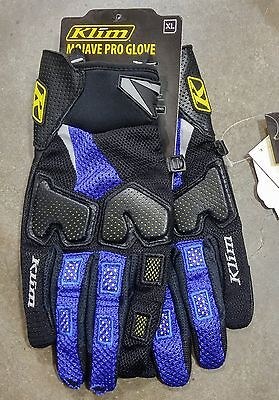 Klim Mojave Pro Gloves (Pair) Blue Men's Size XL
