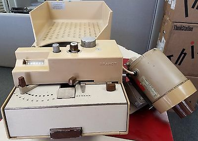 Just Serviced! BRANDT Coin Counter 748 & Coin Package Crimper 763 Combination