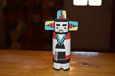 Grace Pooley Route 66 Kachina Carving Hopi Butterfly Maiden