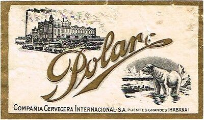 1910s Cuba Polar Puentas Grandes Havana Bier Stephens Collection