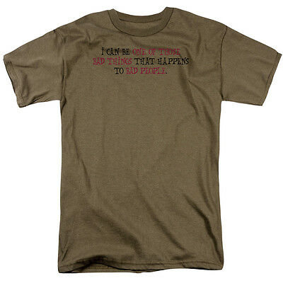 I/'m One of the BAD THINGS That Happens to Bad People Adult T-Shirt All Sizes