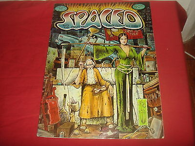 SPACED #3  Jim Pinkowski TREASURY format, UNDERGROUND Adult comix 1976 VG/FN