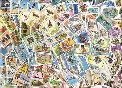 British Empire Stamp Collection 500 Different Large PIctorial Stamps