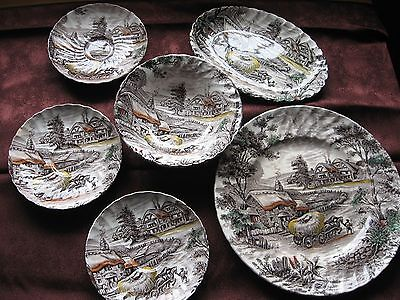 Yorkshire hand painted china - Made in Staffordshire Englan